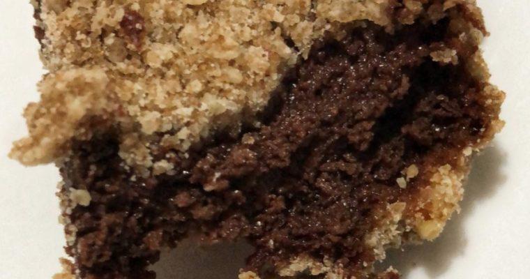 Barritas de Cheesecake de Chocolate